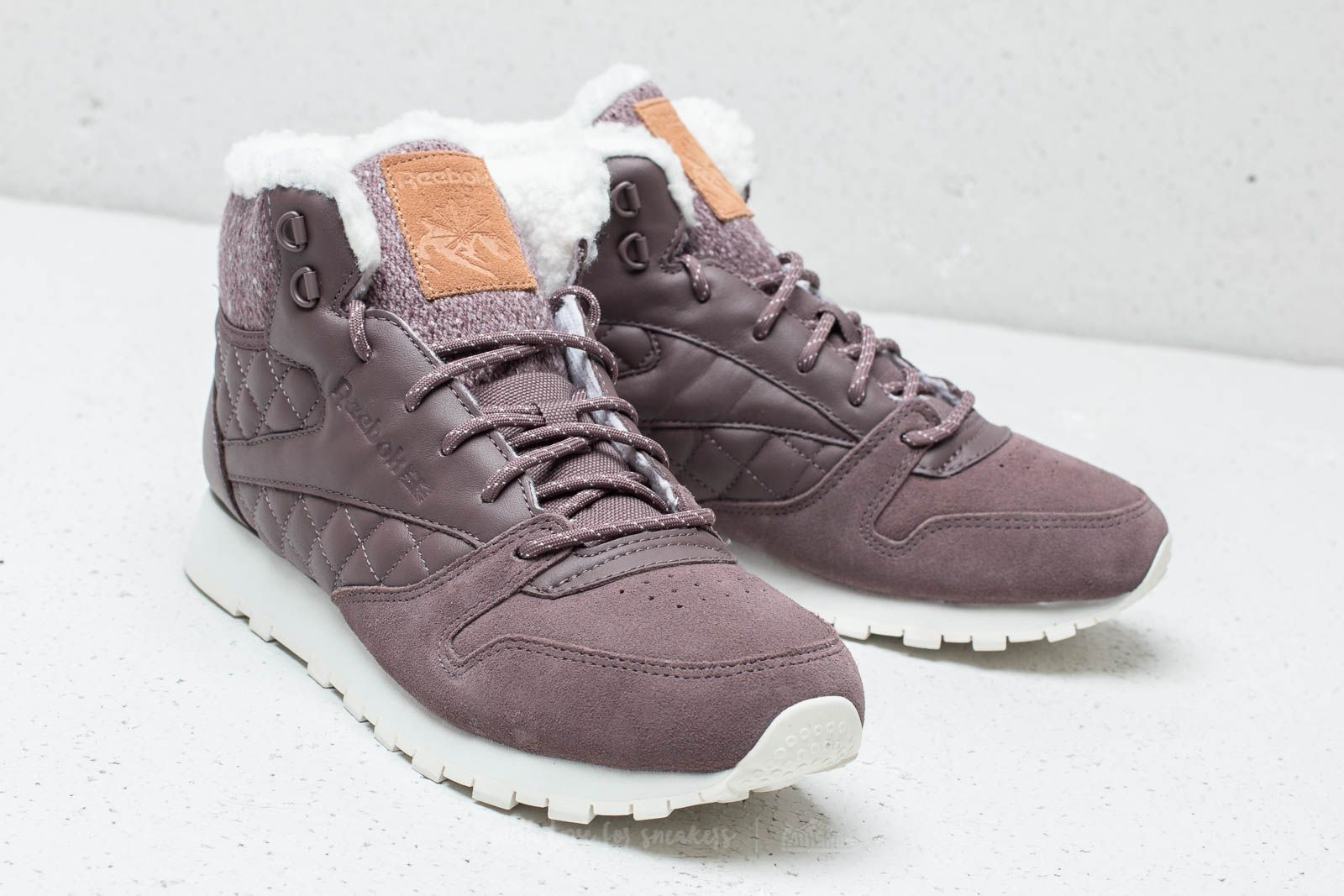 Reebok Classic Leather Arctic Boot Almost Grey Chalk Camel | Footshop