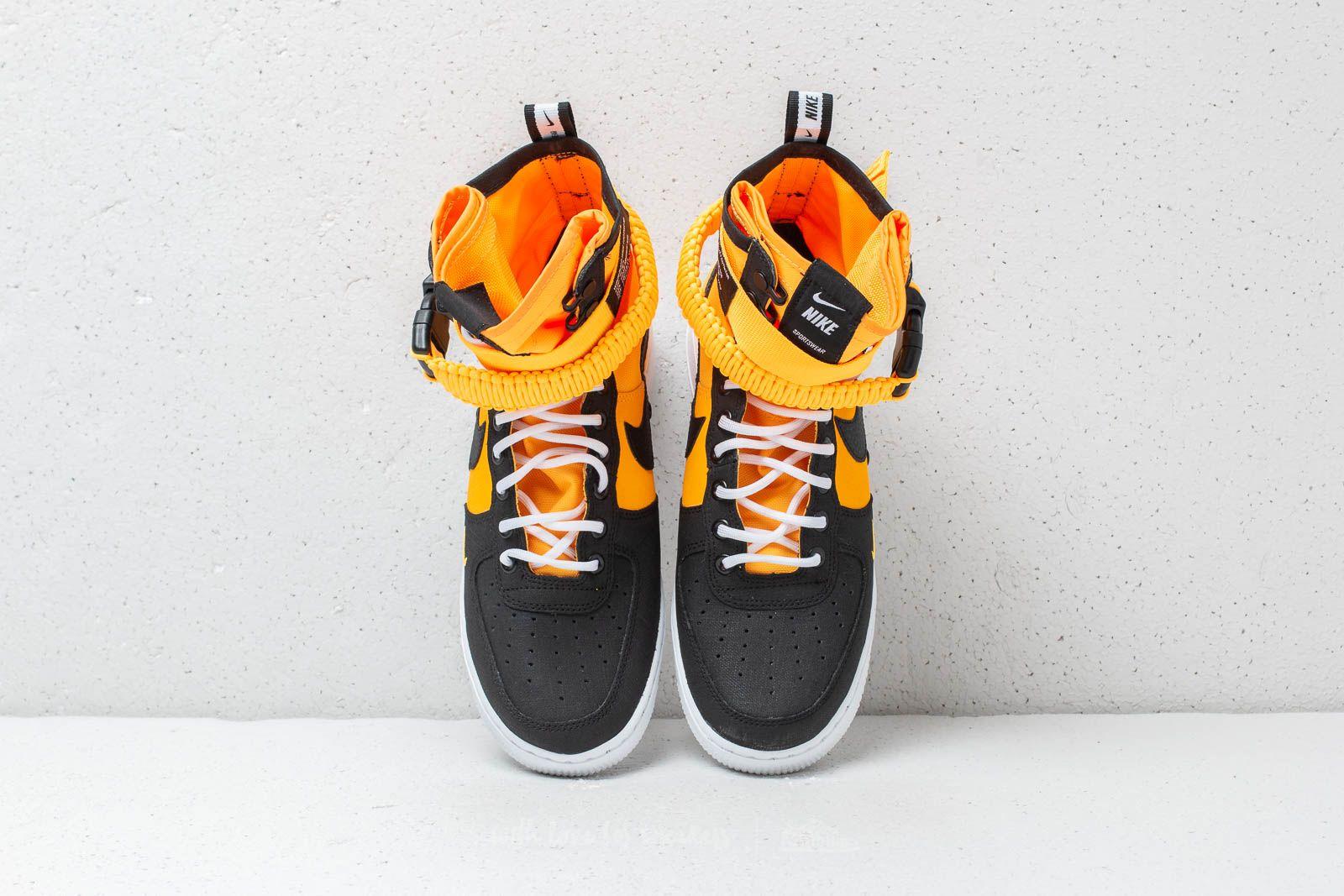 Nike SF Air Force 1 Laser Orange Black White | Footshop