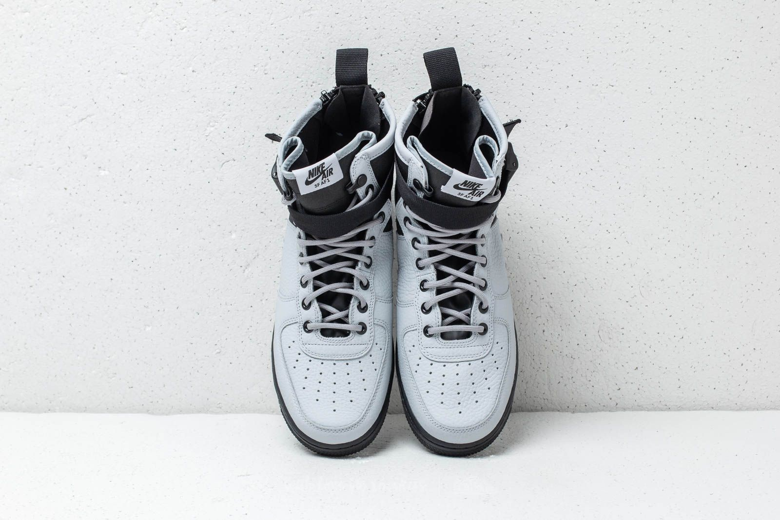 Nike SF Air Force 1 Mid Wolf Grey Wolf Grey Black | Footshop