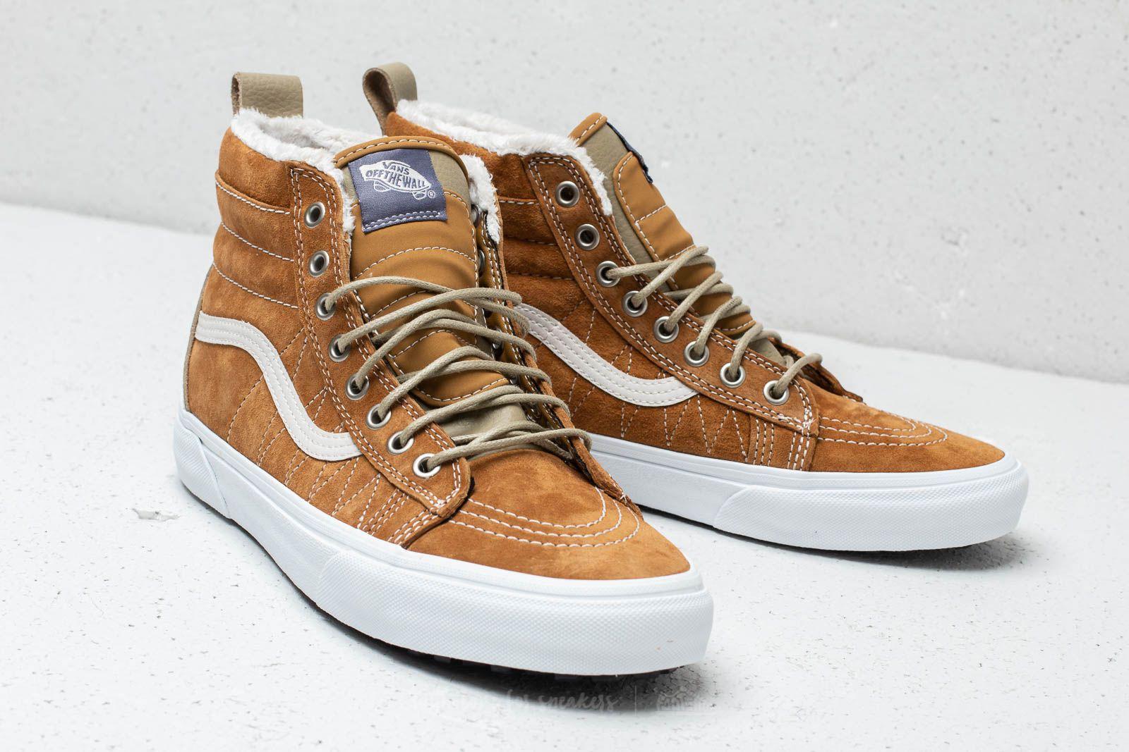 Vans Sk8-Hi MTE Cumin/ Slate Green | Footshop