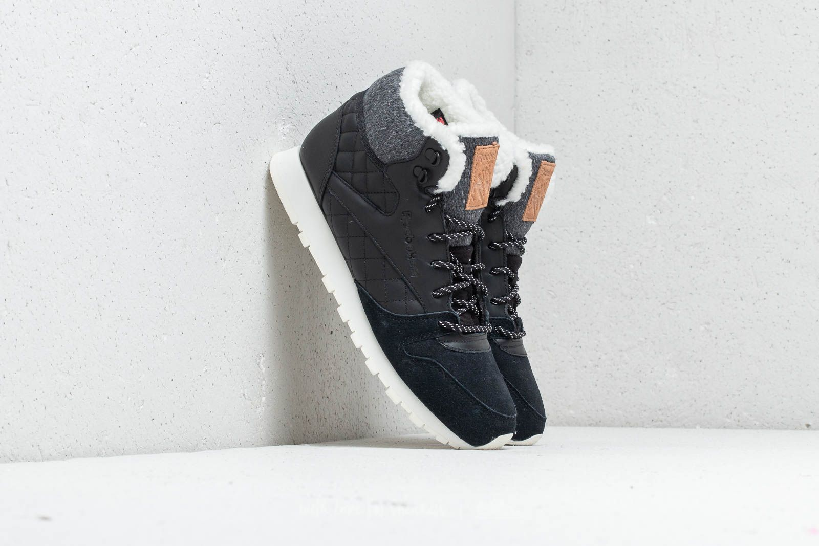 b495ae978 Reebok Classic Leather Arctic Boot Black/ Chalk/ Camel/ Pink at a great  price