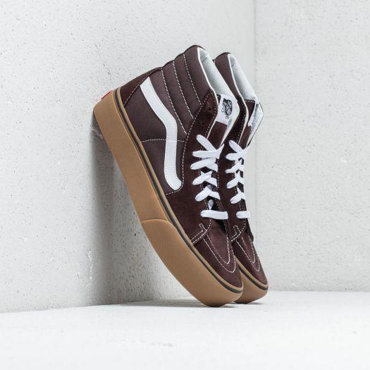 Vans Sk8 Hi Platform 2 (Gum) Chocolate Torte Tru   Footshop
