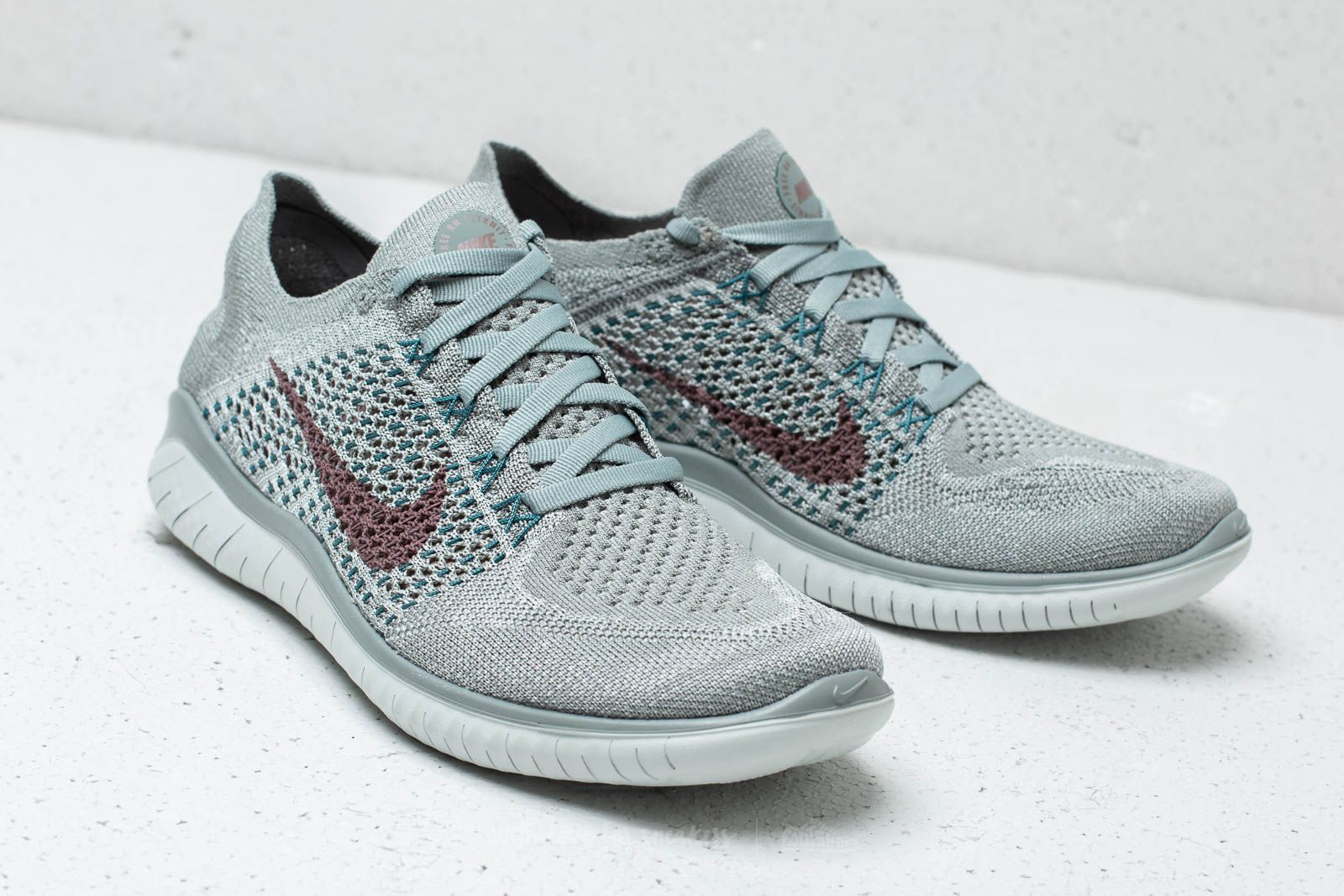 Nike Free RN Flyknit 2018 Wmns Mica green  Smokey Mauve at a great price 92 2a8d188f09