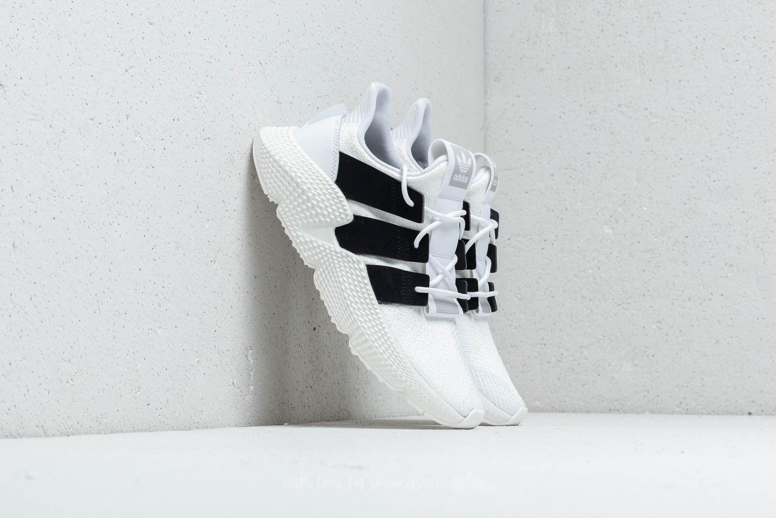 Pánské tenisky a boty adidas Prophere Ftw White/ Core Black/ Shock Lime