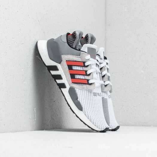 adidas EQT Support 9118 Ftw White Hi Res Red Grey Two | Footshop