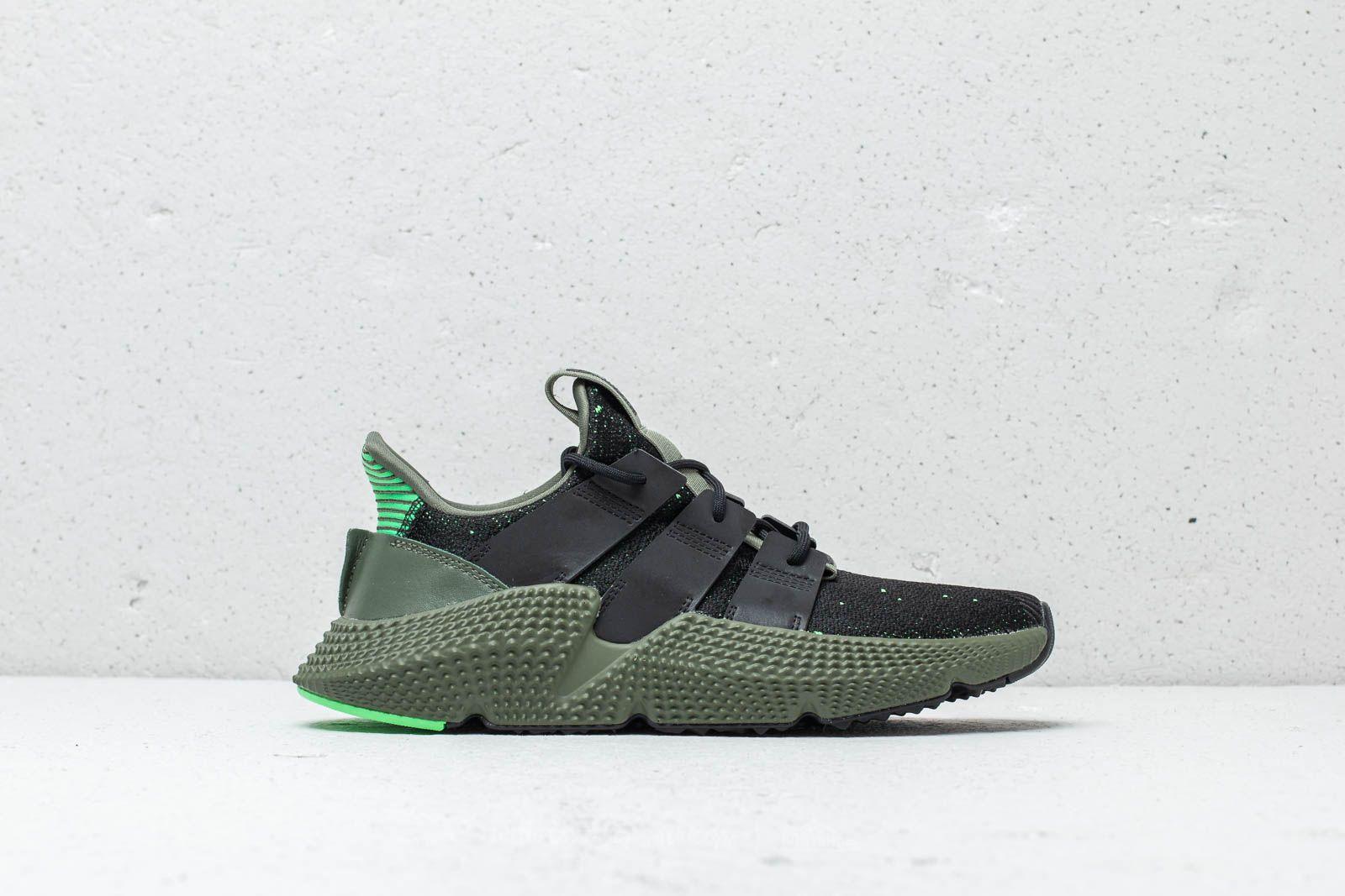 adidas Prophere Core Black Core Black Shock Lime   Footshop