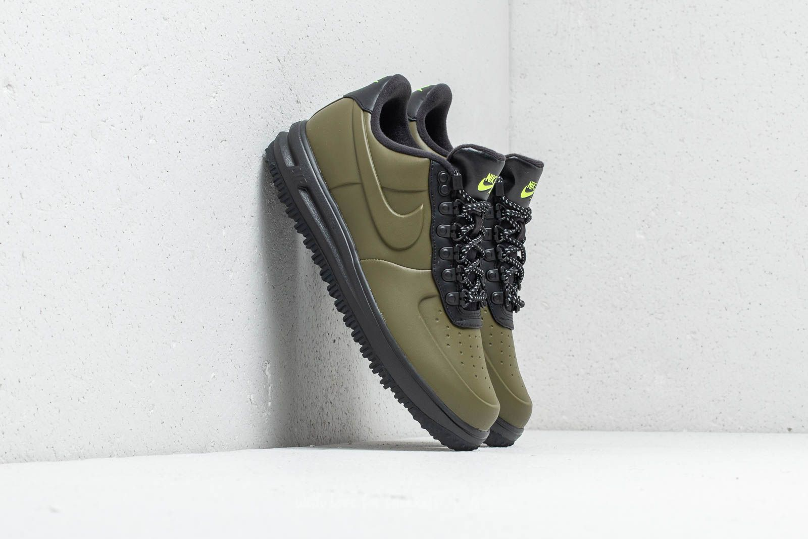 Nike Lunar Force 1 Duckboot Low Olive Canvas Olive Canvas | Footshop