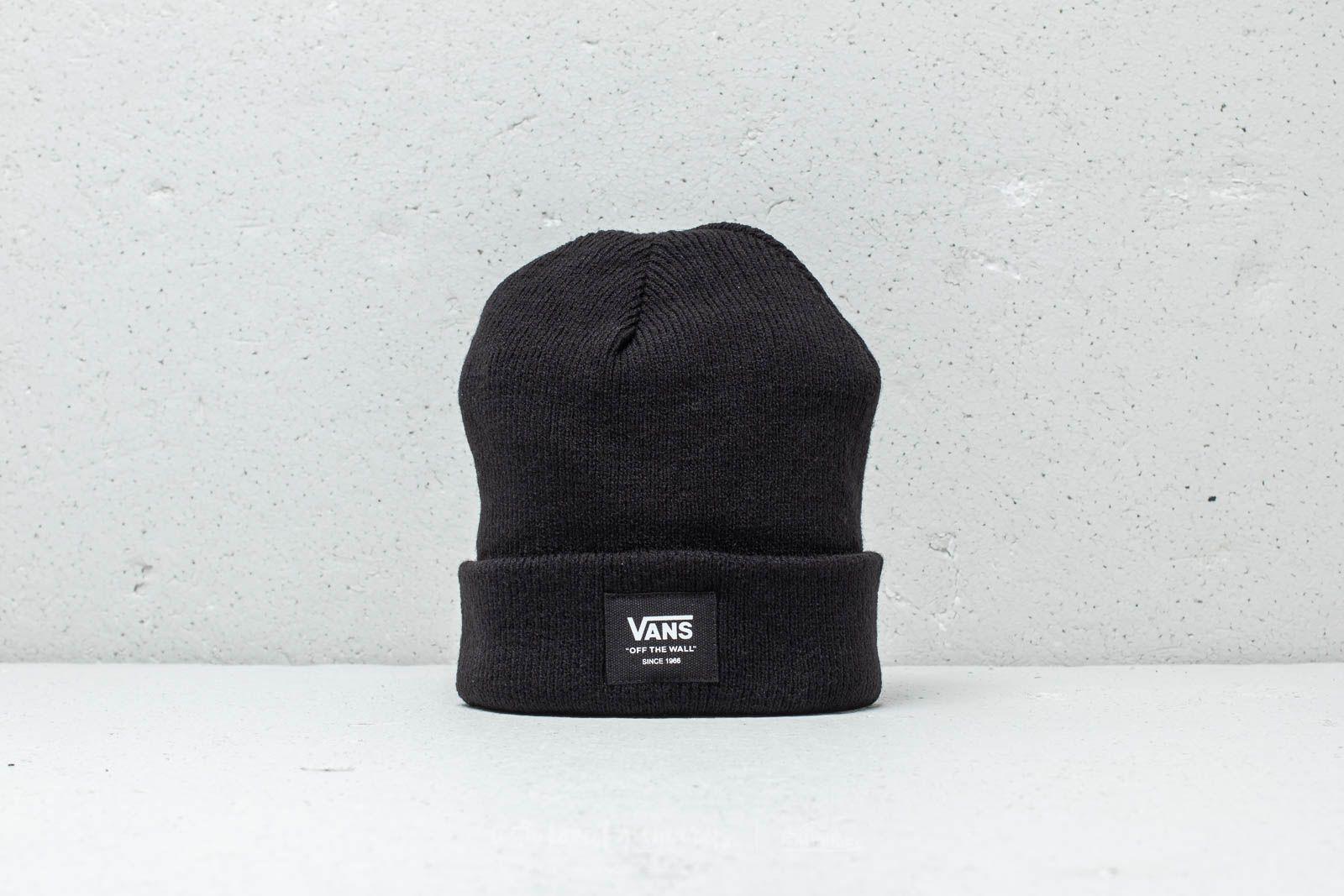 Vans Mte Cuff Beanie Black  75f4a0b7946