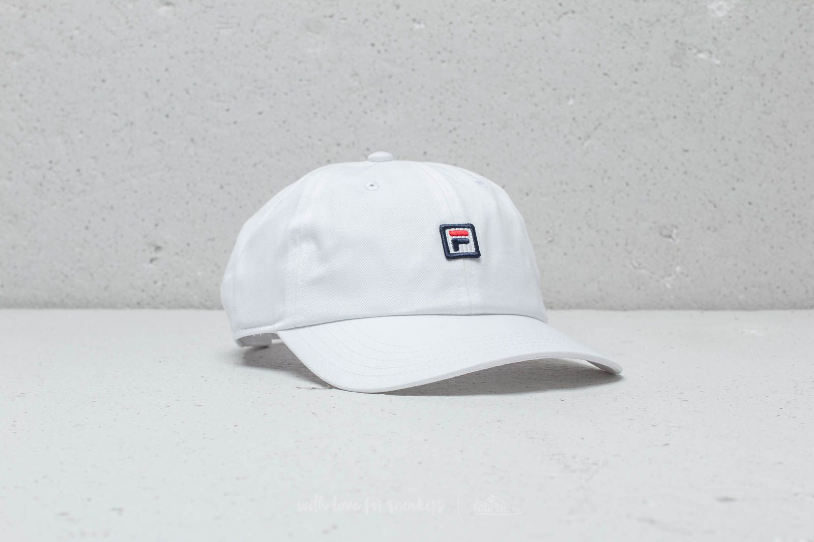 Fila Dad Cap Strapback Bright White