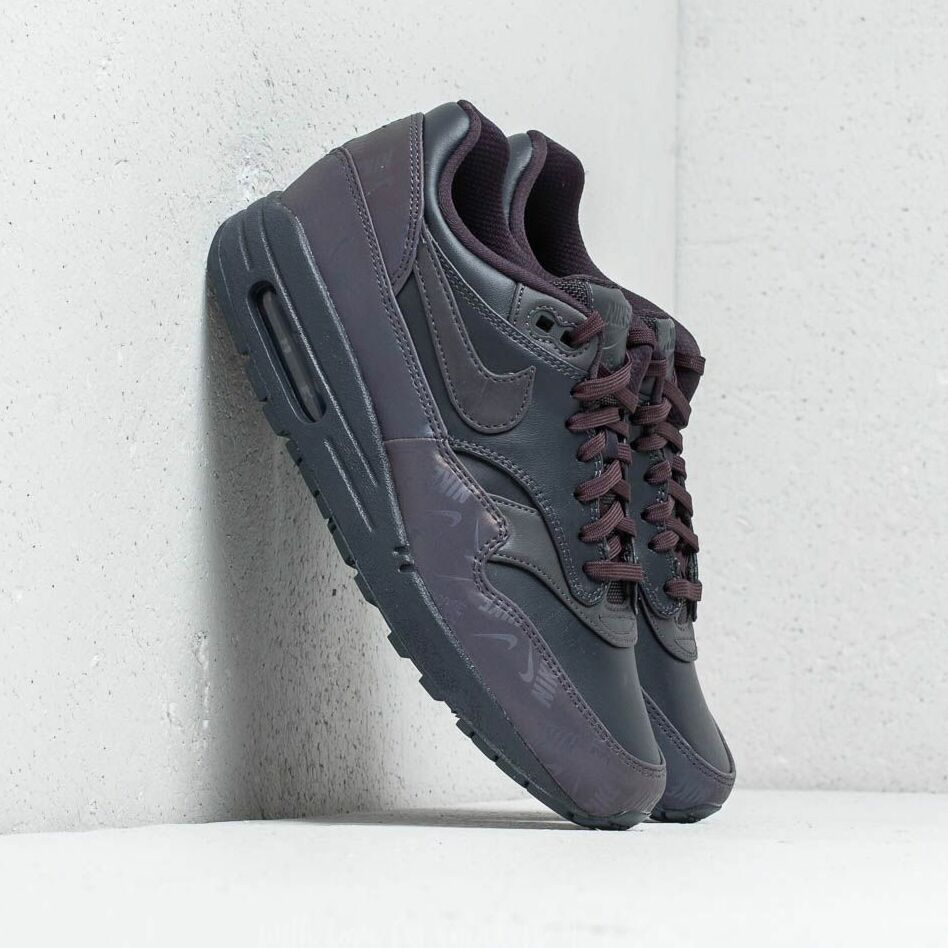Nike WMNS Air Max 1 LX Oil Grey/ Oil Grey-Oil Grey, Gray