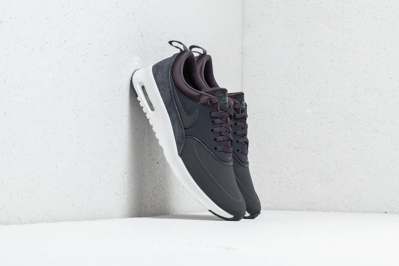 outlet store f7221 91137 Nike Air Max Thea Premium Wmns Oil Grey  Oil Grey-Summit White at a