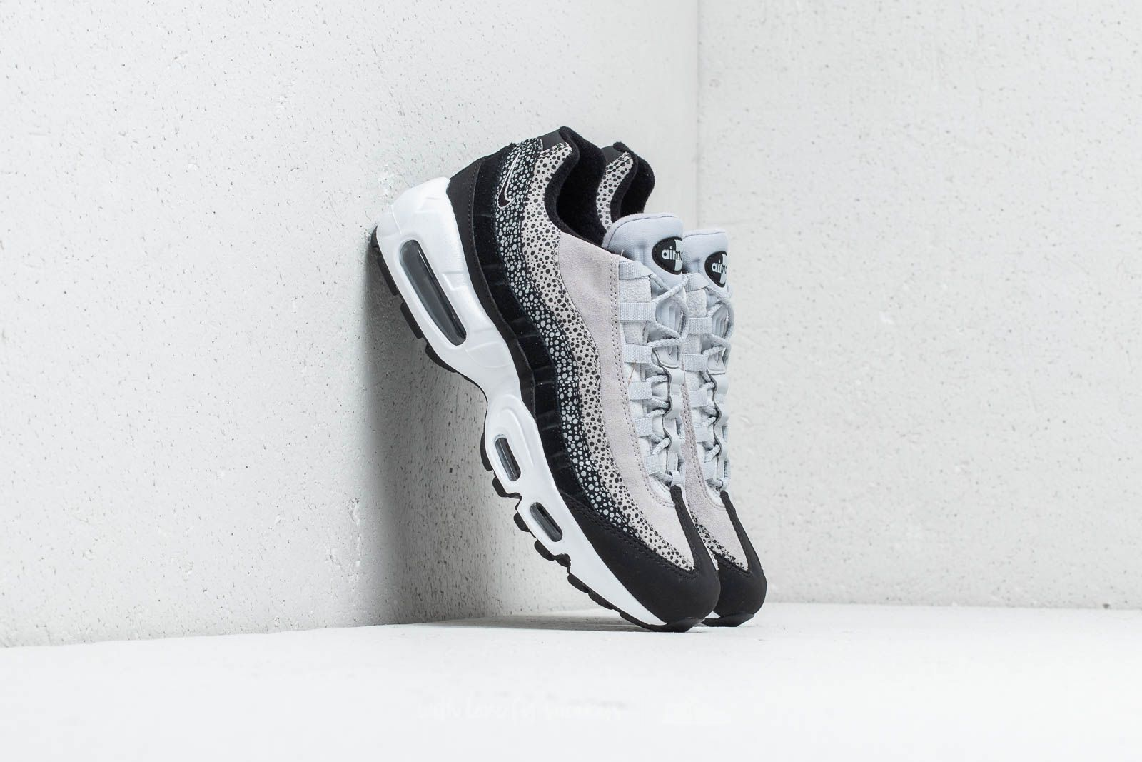 9500bb059eb7 Nike Wmns Air Max 95 Premium Black  Black-Wolf Grey-White at a