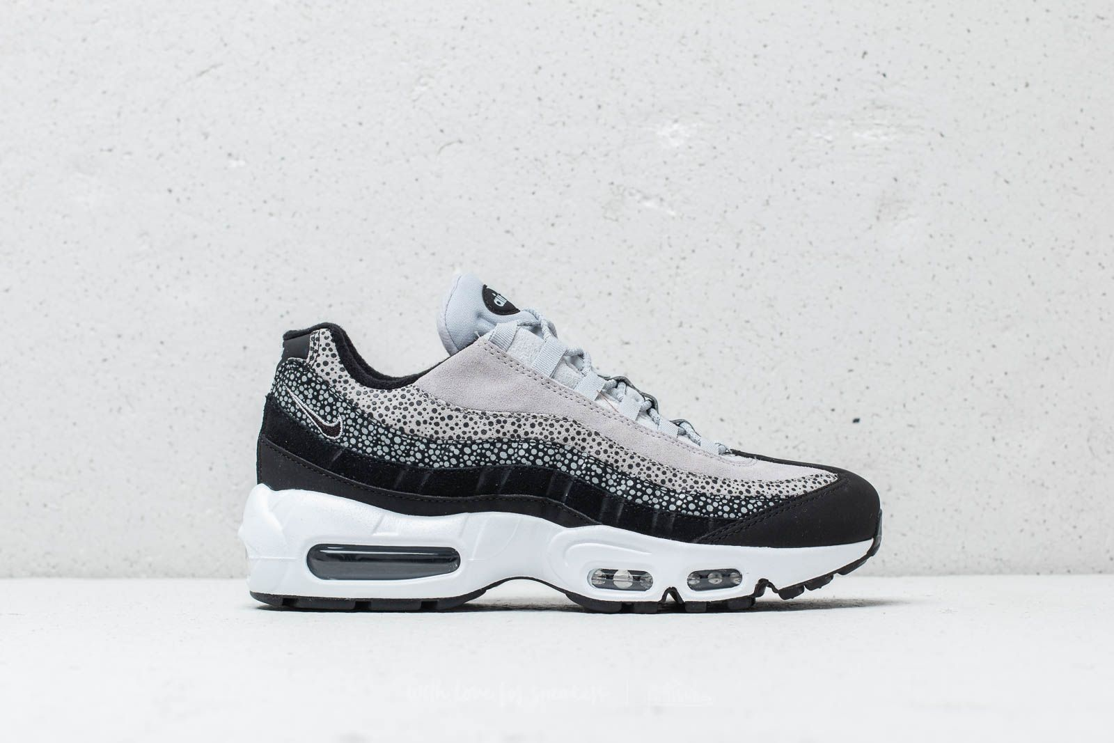 detailed look 296f0 a3ba3 Nike Wmns Air Max 95 Premium Black  Black-Wolf Grey-White at a