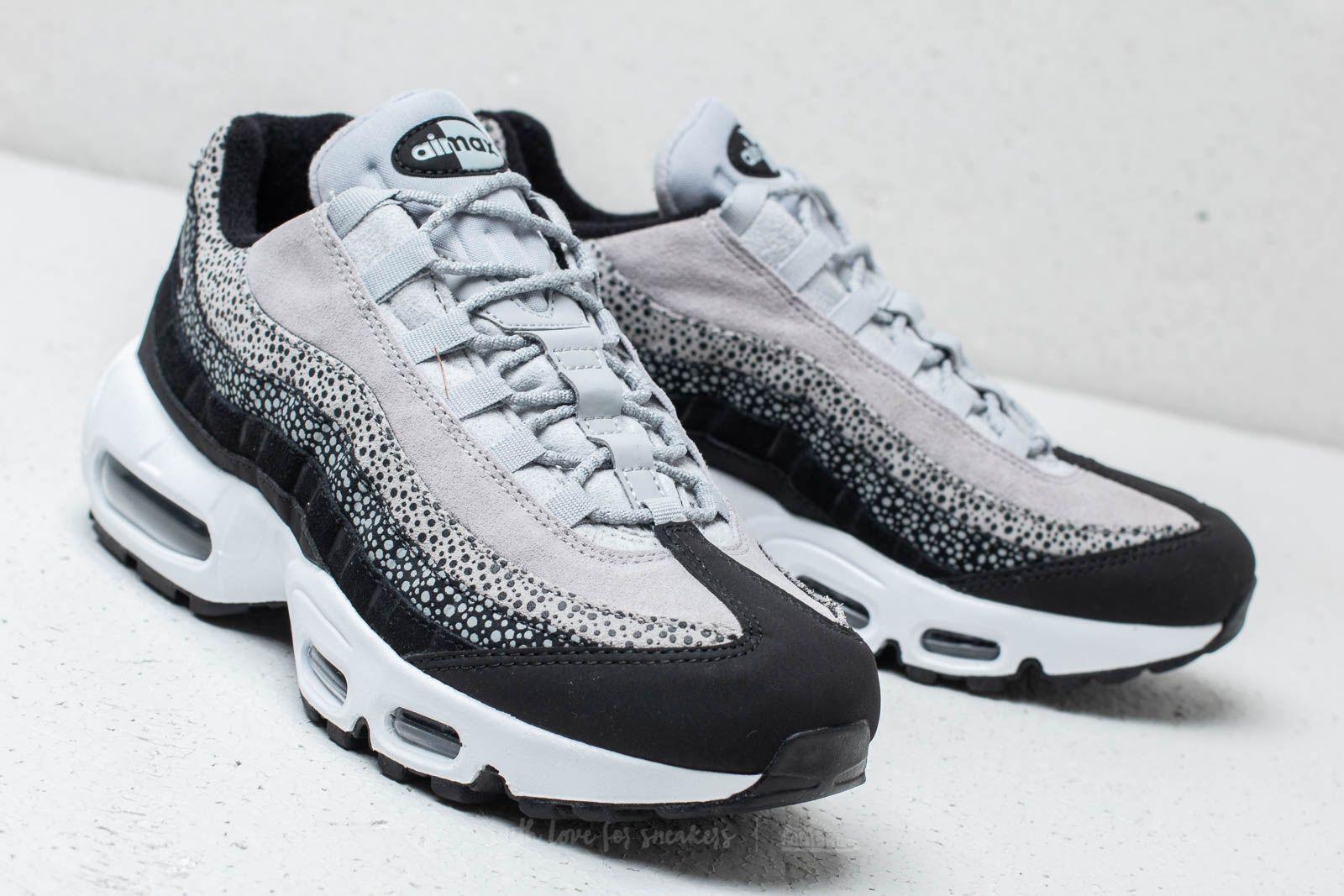 the latest eef63 8bf3c Nike Wmns Air Max 95 Premium Black/ Black-Wolf Grey-White ...