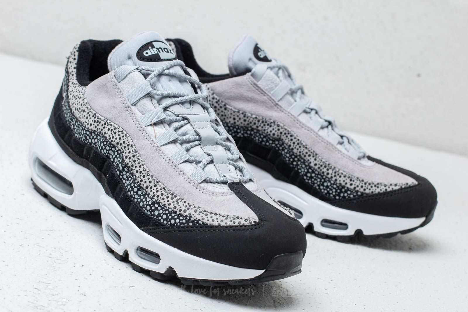 Nike Wmns Air Max 95 Premium Black  Black-Wolf Grey-White at a 2be00021c