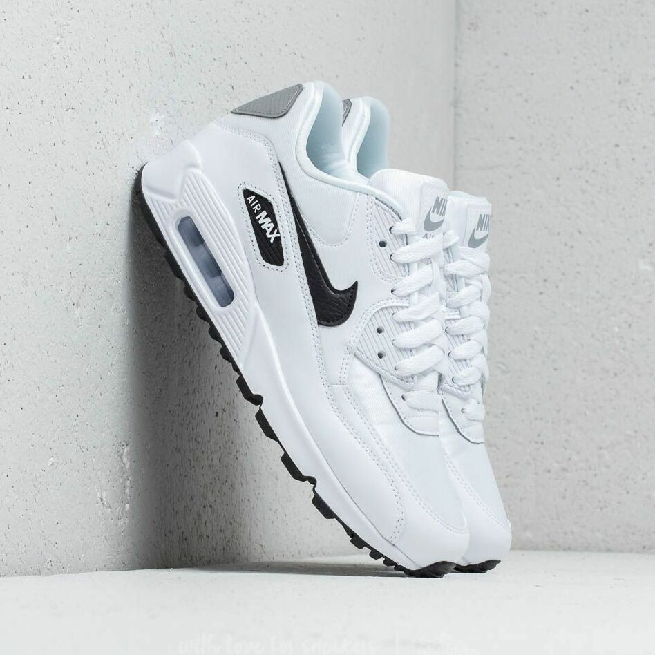 Nike Wmns Air Max 90 White/ Black-Reflect Silver EUR 38.5