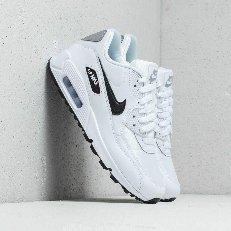 Nike Wmns Air Max 90 White/ Black-Reflect Silver EUR 41