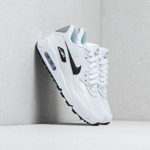 Air Max 90 Womens in WhiteBlackReflect Silver by Nike WSS  WSS
