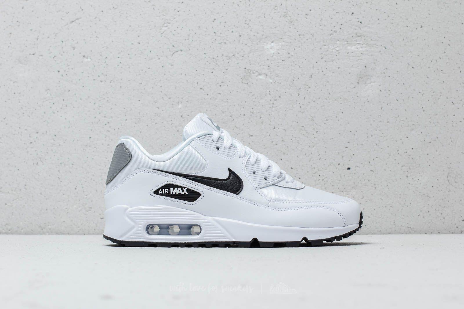Nike Wmns Air Max 90 White Black Reflect Silver | Footshop
