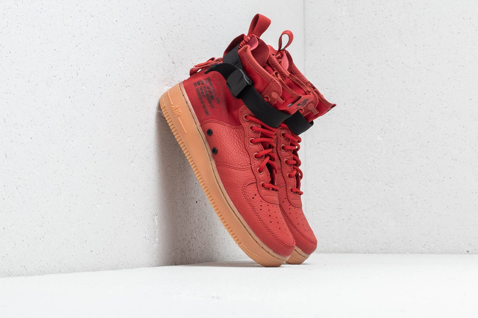 timeless design 2ca6b c0b61 real nike air force 1 mid red d81b7 d35a7