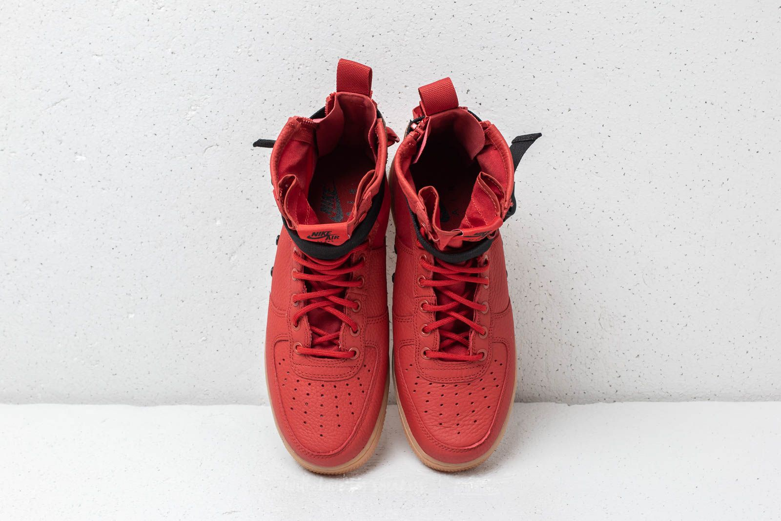 Nike SF Air Force 1 Mid Dune Red Dune Red Black