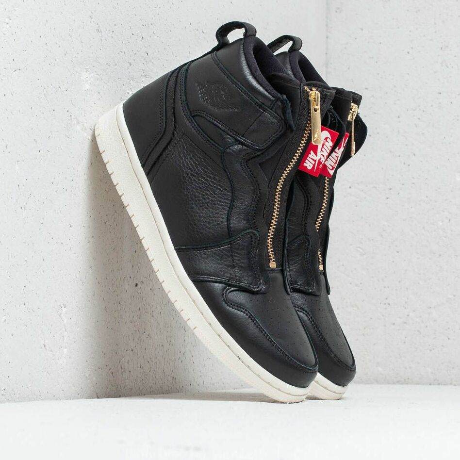 Air Jordan Wmns 1 High Zip Black/ Sail-University Red EUR 37.5
