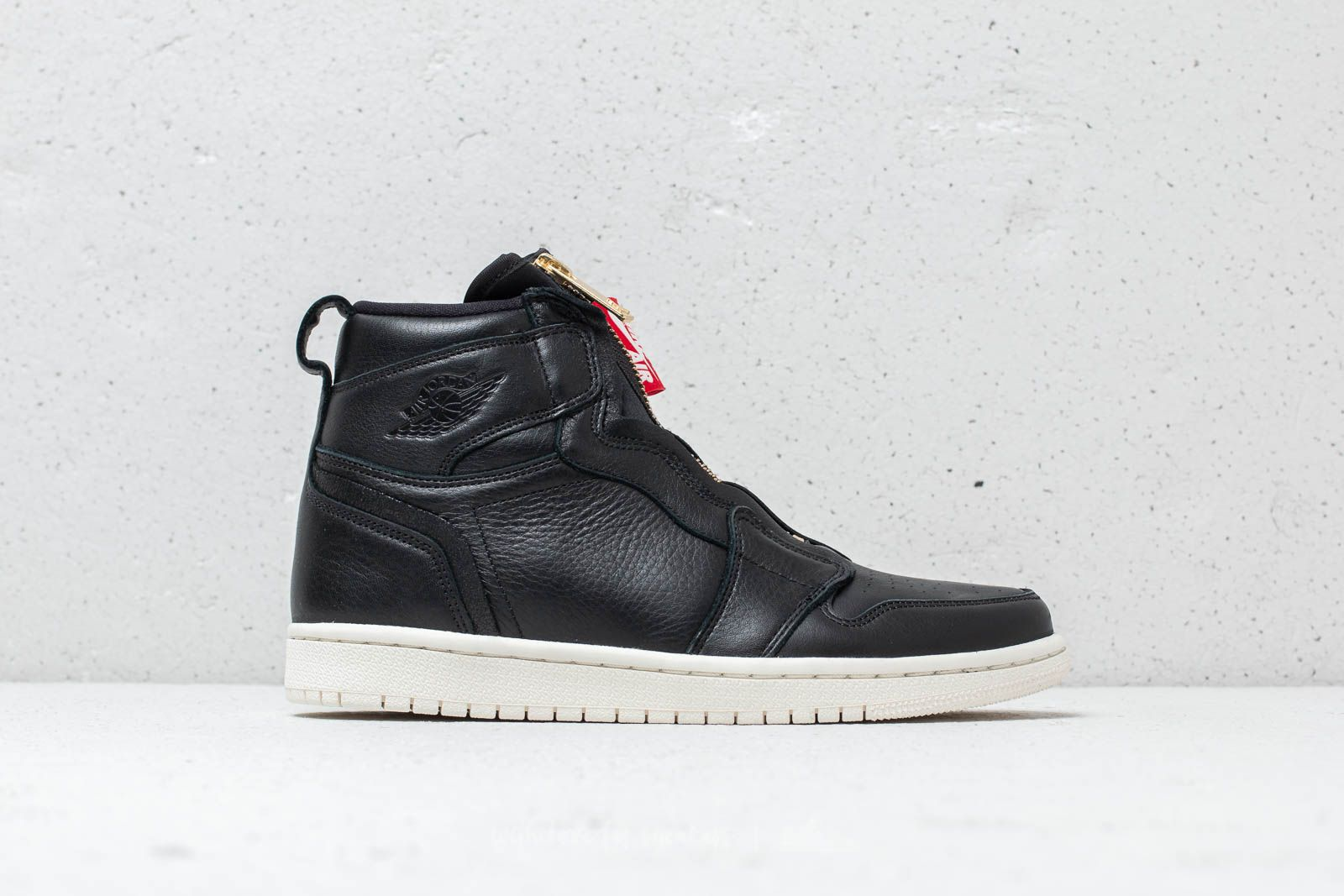 new concept 0a491 13c74 Air Jordan 1 High Zip Wmns Black/ Sail-University Red a muy buen precio