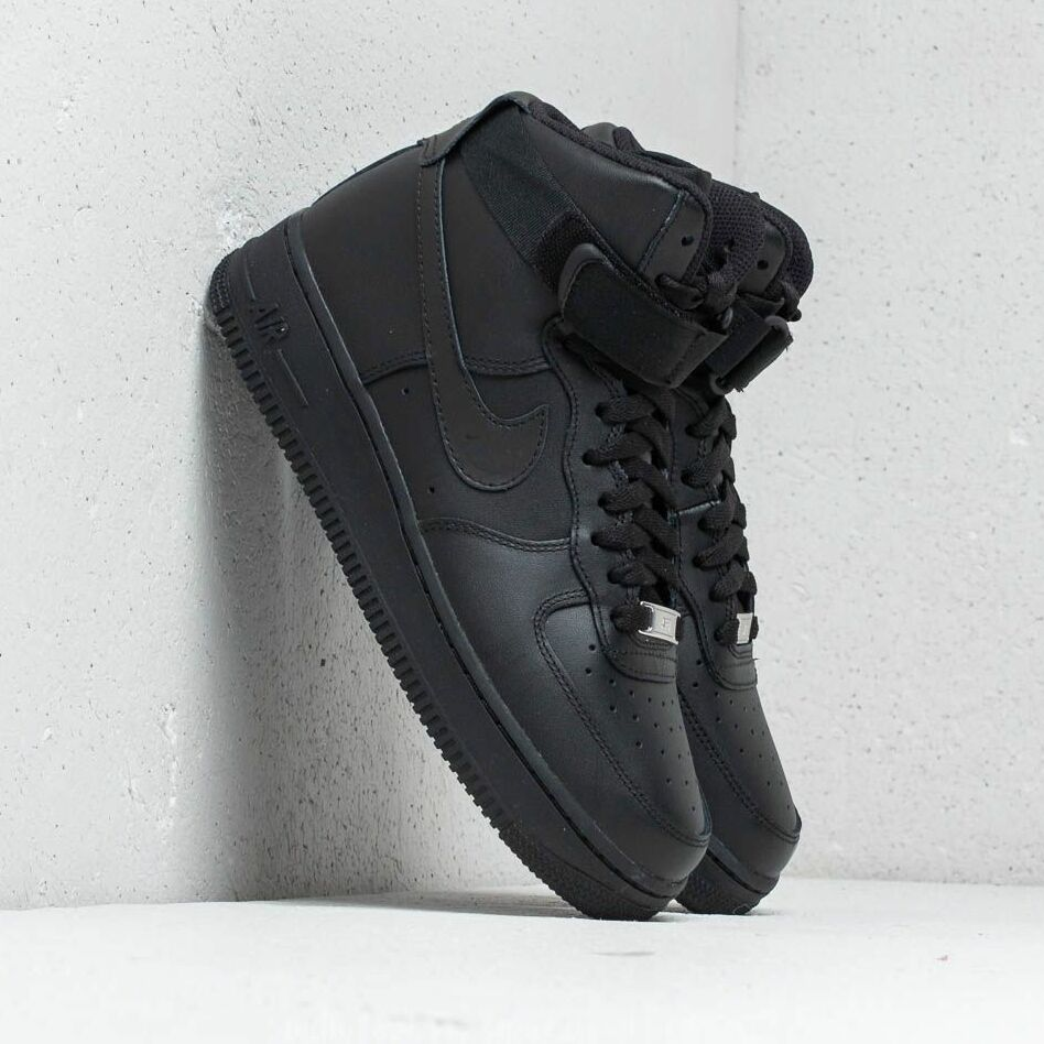 Nike Wmns Air Force 1 High Black/ Black-Black EUR 36