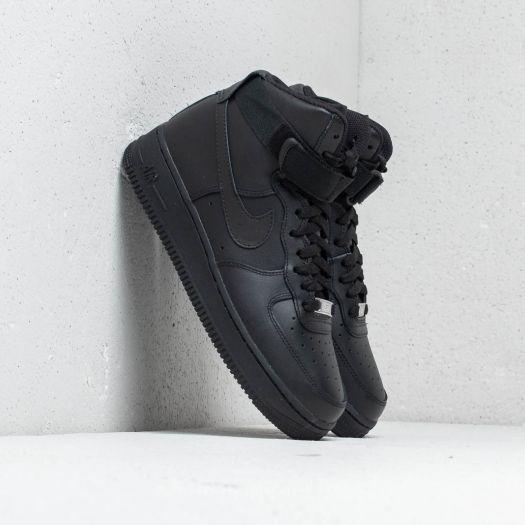 shoes Nike Wmns Air Force 1 High Black