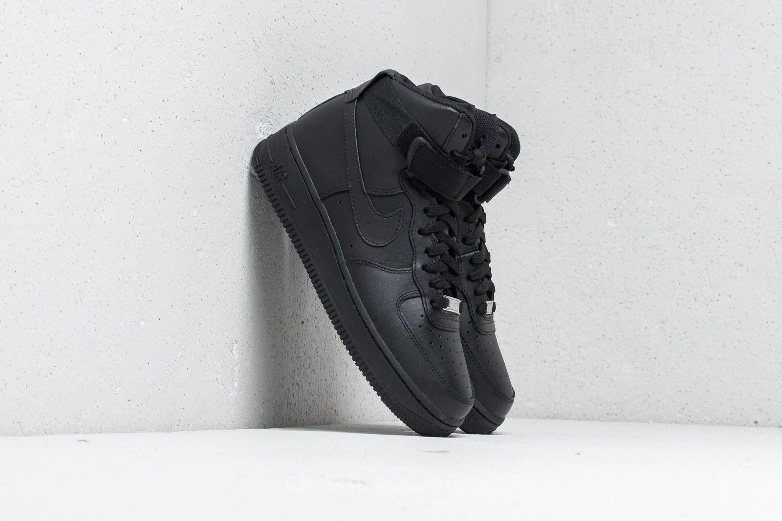 Nike Wmns Air Force 1 High Black/ Black-Black za skvelú cenu 117 € kúpite na Footshop.sk