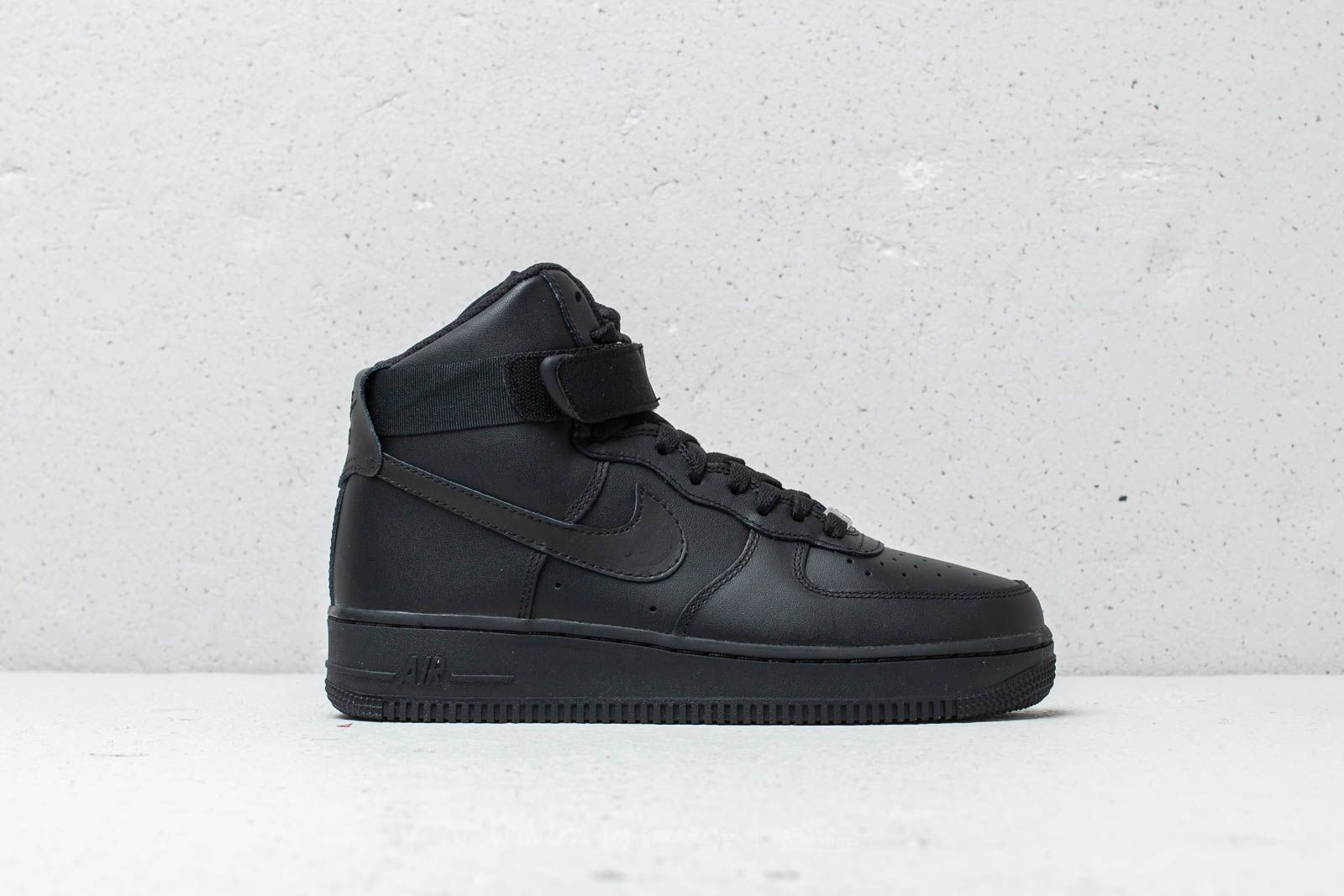 b0e1ed0c Nike Wmns Air Force 1 High Black/ Black-Black at a great price 117