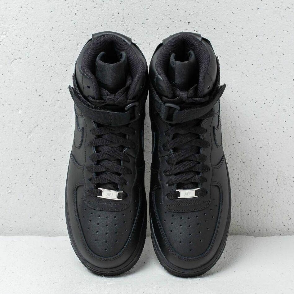 Nike Wmns Air Force 1 High Black/ Black-Black
