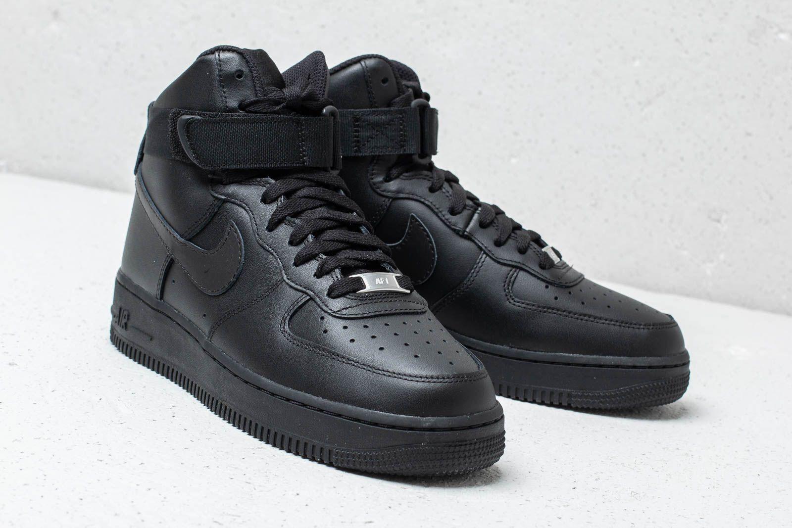 cheap for discount 55016 27be7 Nike Wmns Air Force 1 High Black/ Black-Black | Footshop