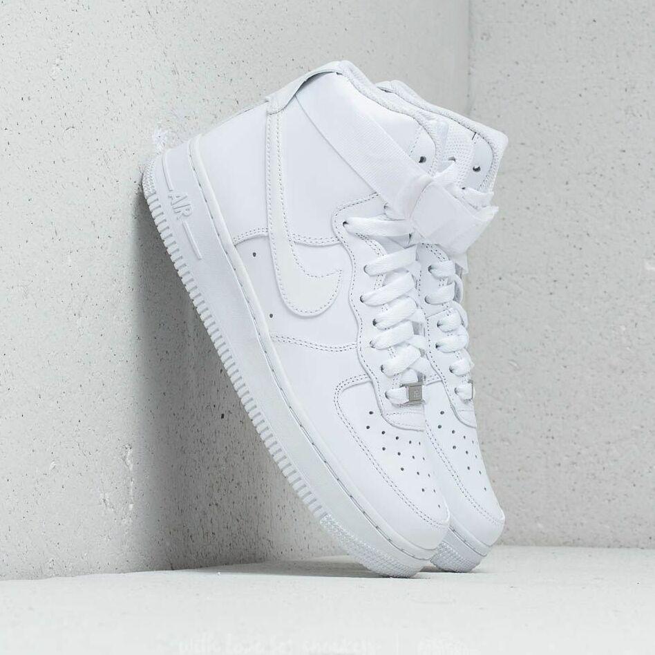 Nike Wmns Air Force 1 High White/ White-White EUR 36
