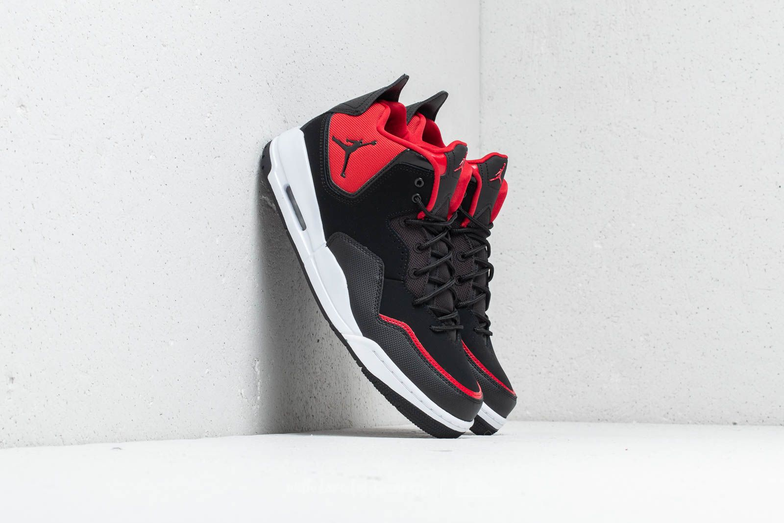 new product 58667 b7b6e Jordan Courtside 23. Black  Black-Gym Red-White