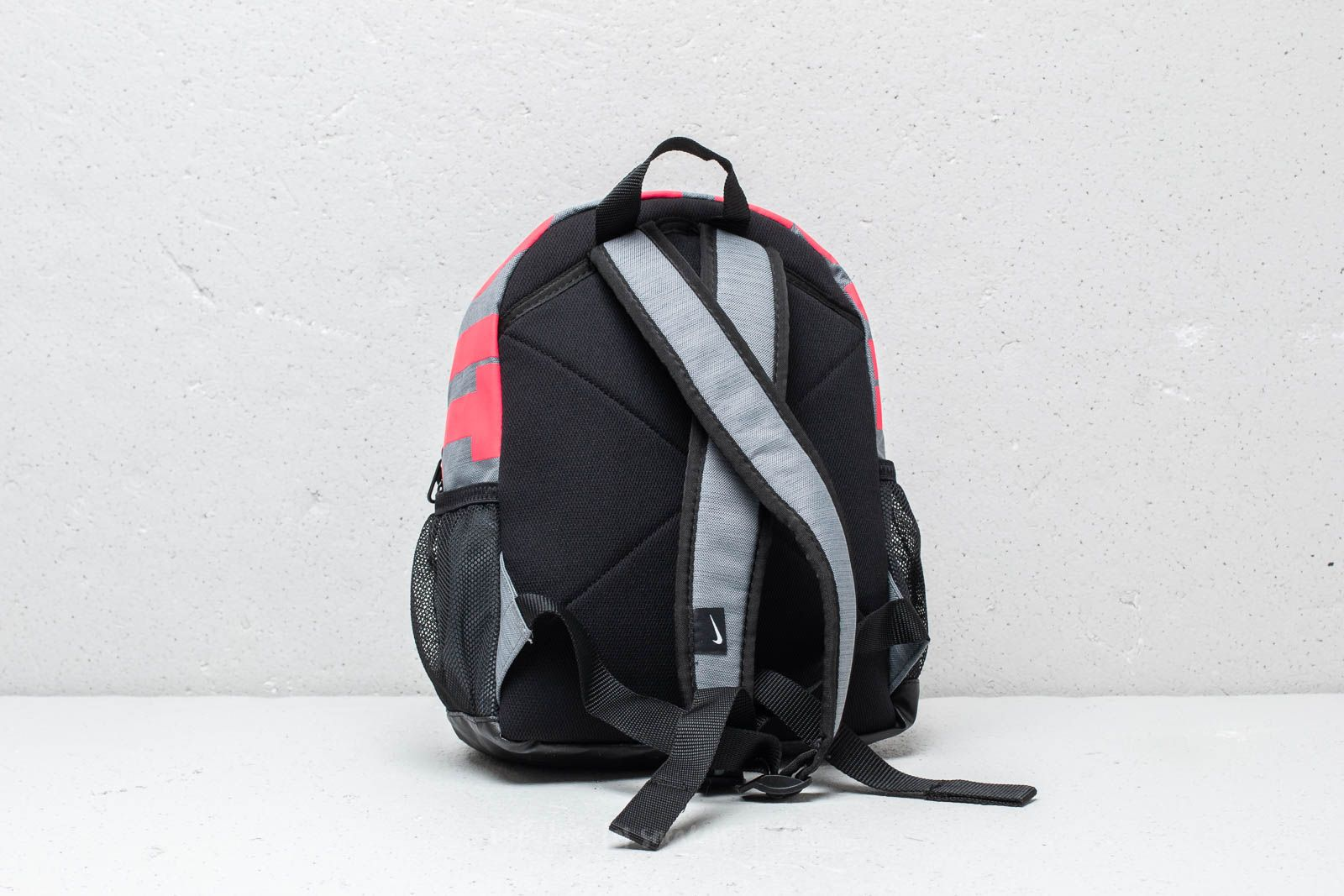 e0547ef4f35 Nike Just Do It Brasilia Mini Backpack Grey  Pink at a great price £18