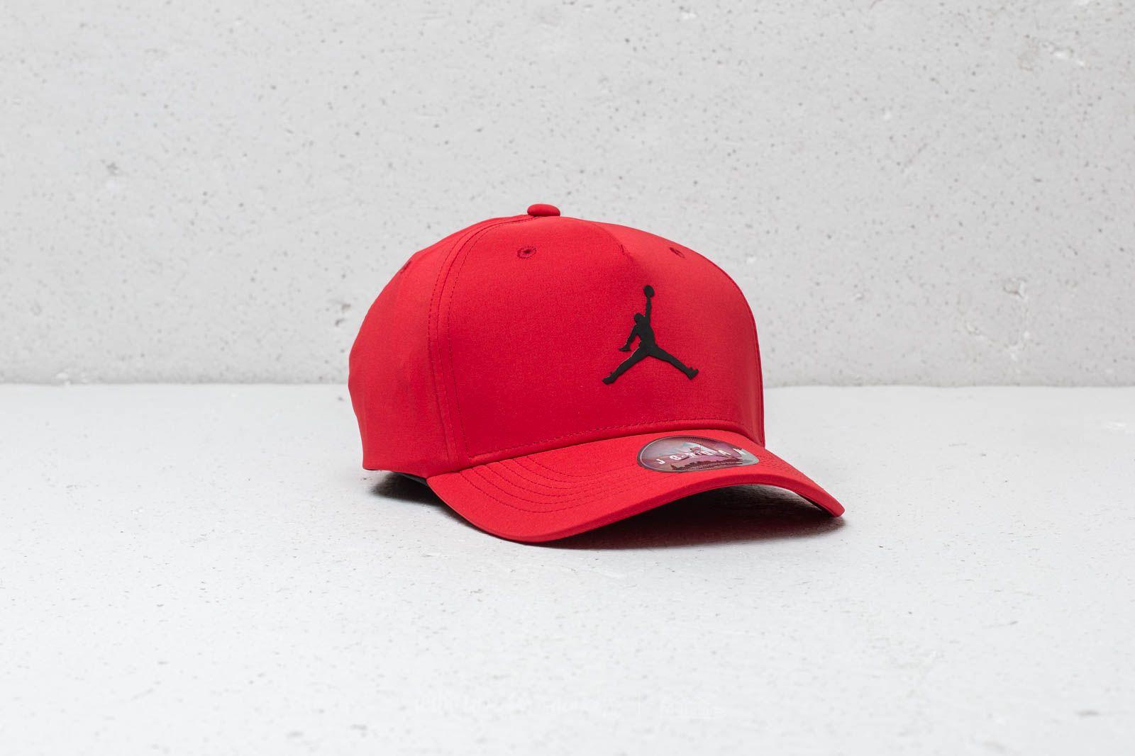 0b2460de0ad Jordan Air Jumpman Fitted Cap University Red