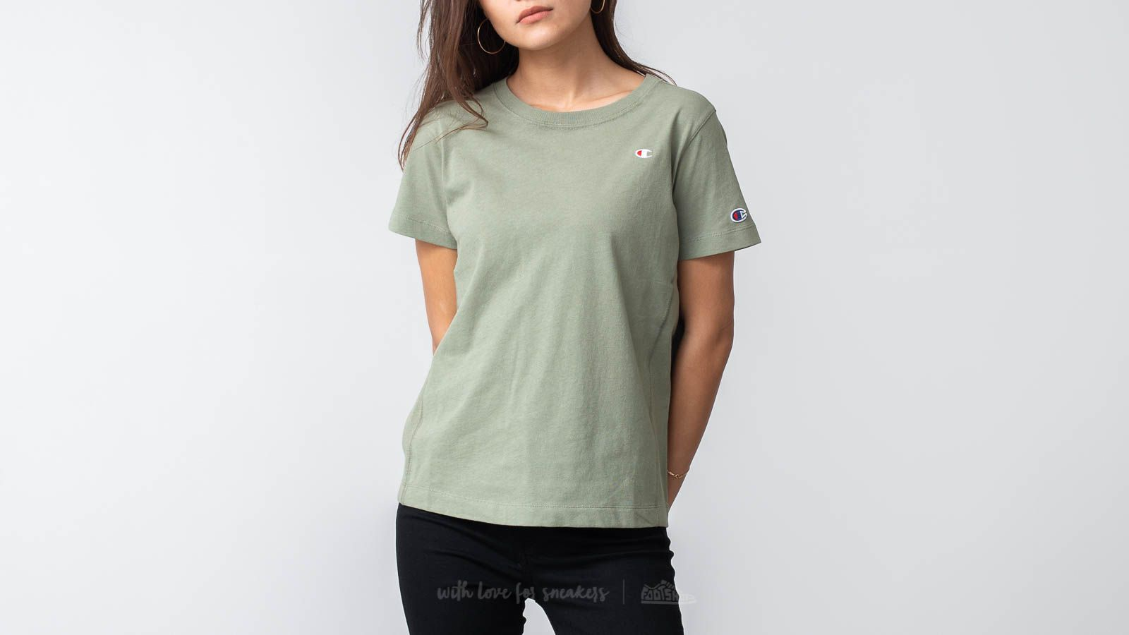 37386bfab Champion Reverse Weave Tee Forest Green at a great price $45 buy at Footshop