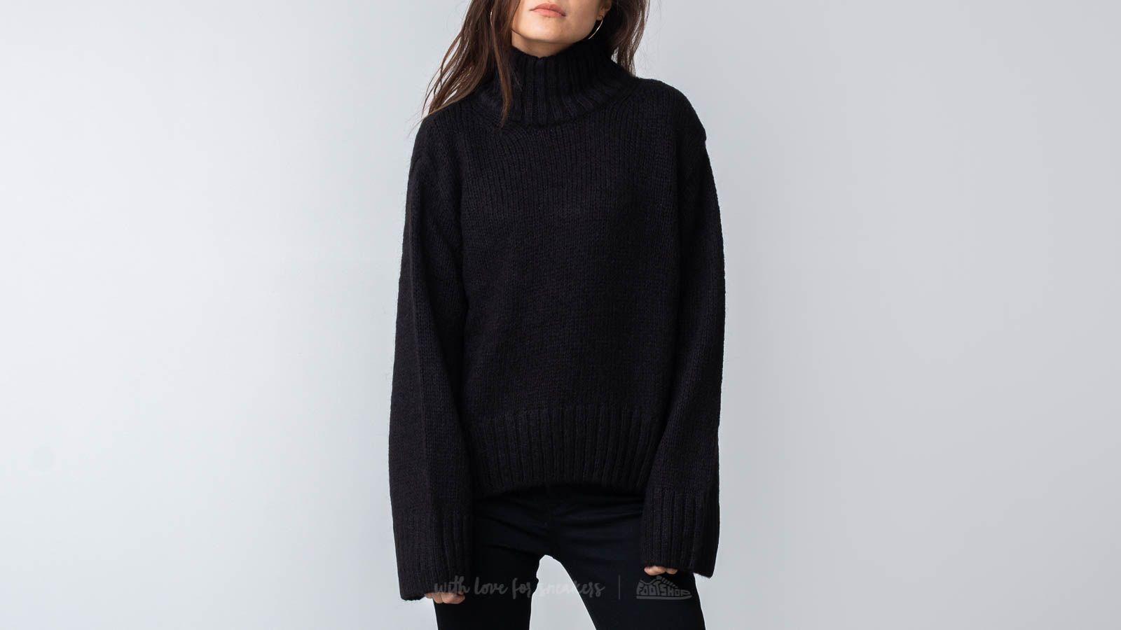 SELECTED Holly Longsleeve Knit Highneck Pullover Black za skvělou cenu 1 290 Kč koupíte na Footshop.cz