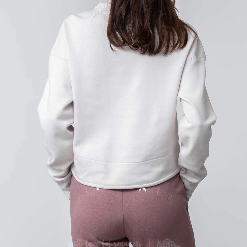 Nike Sportswear Tech Fleece Crewneck Top Desert Sand, White