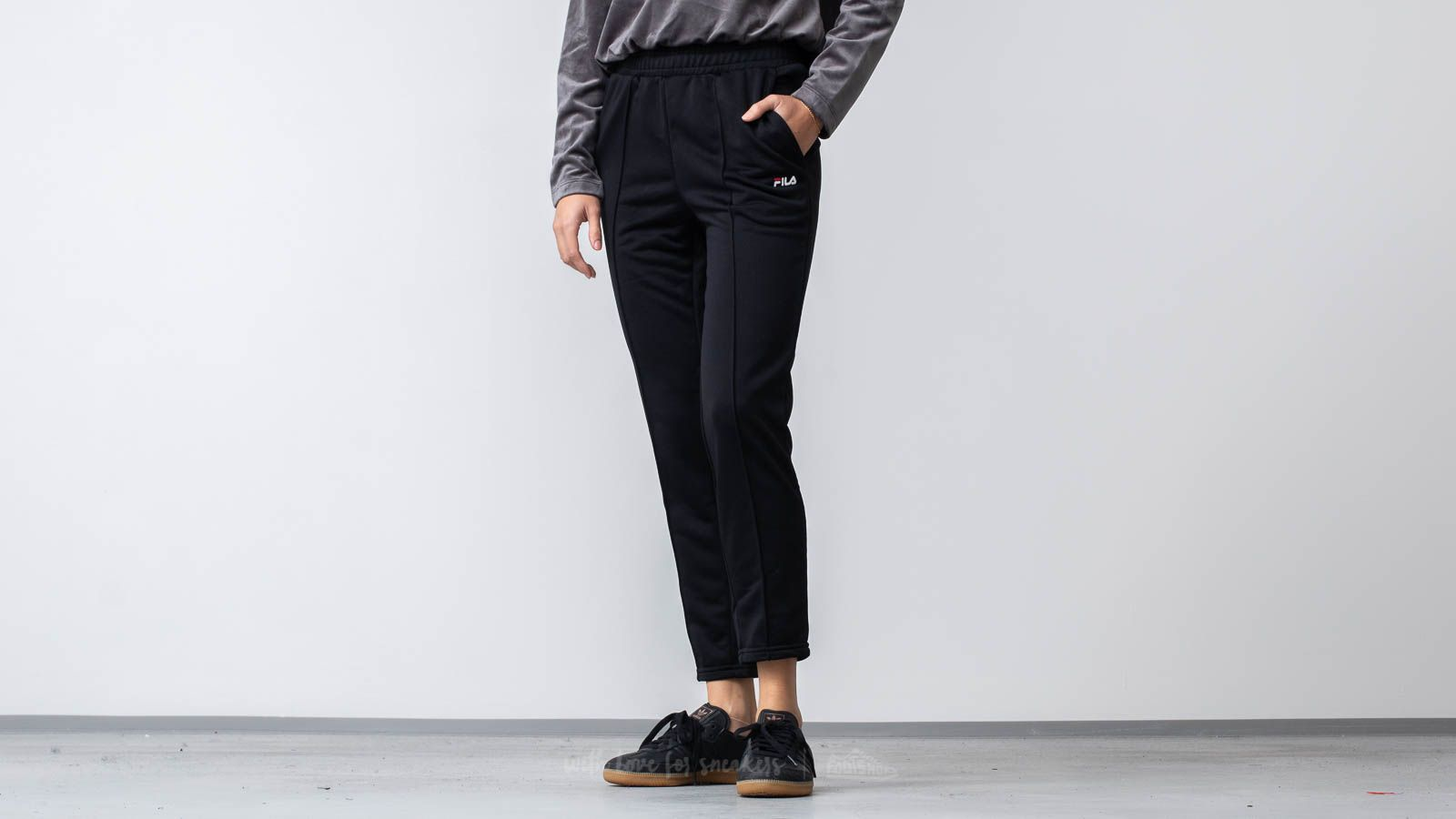 Fila Brigid Cigarette Track Pants Black at a great price 44 € buy at Footshop