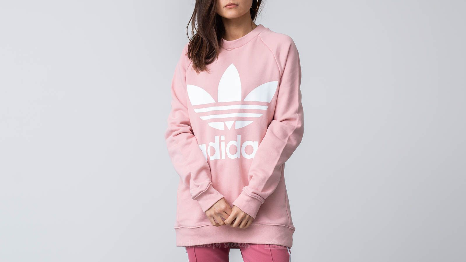 c5375cfe018e adidas Oversized Sweatshirt Pink Spirit at a great price 79 € buy at  Footshop