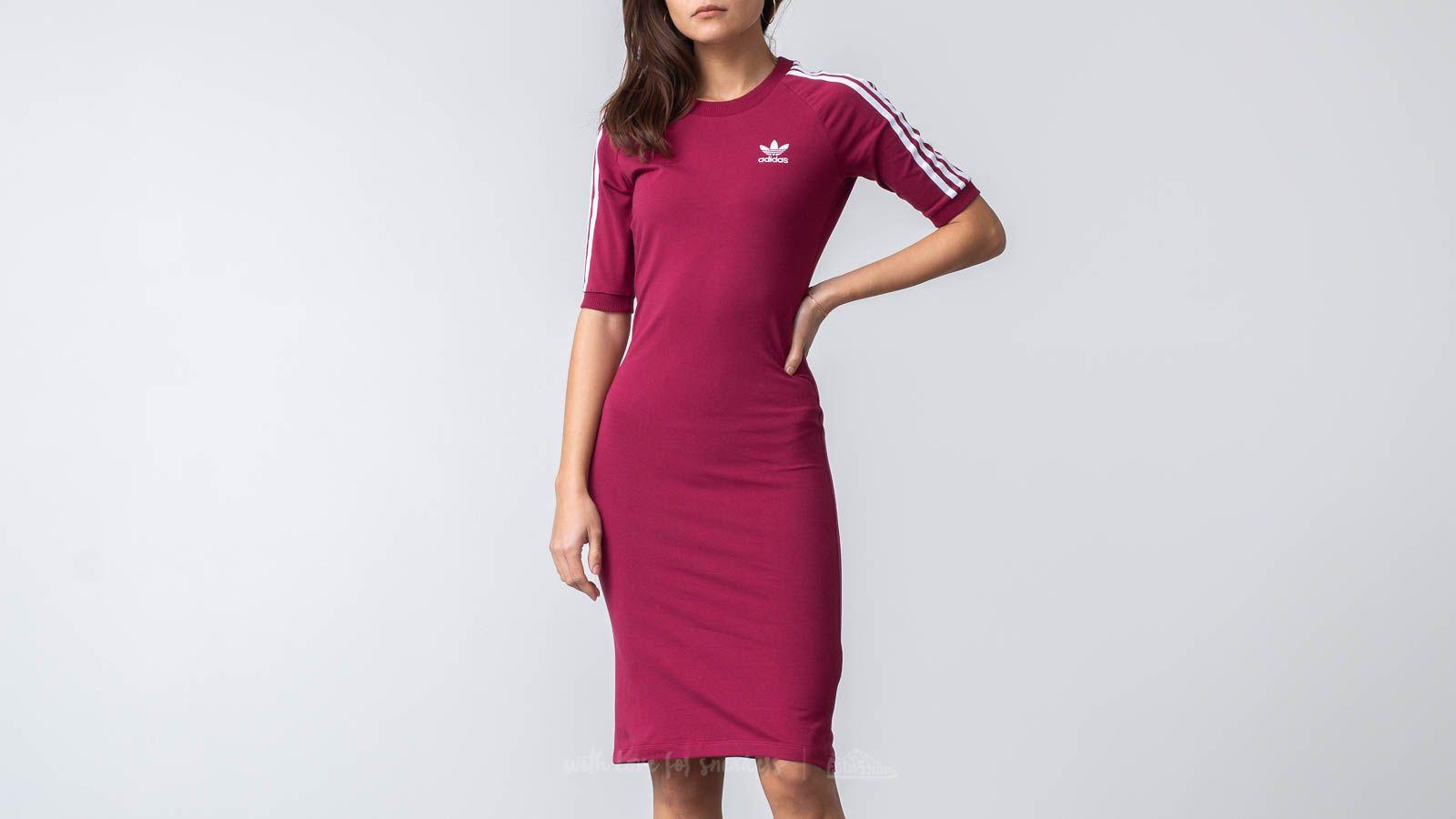 b5055157f5 adidas 3 Stripes Dress Mystery Ruby