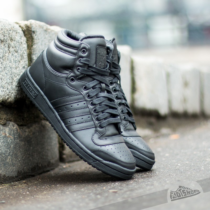 save off 77eca 3dcb1 adidas Top Ten Hi Black Black Black