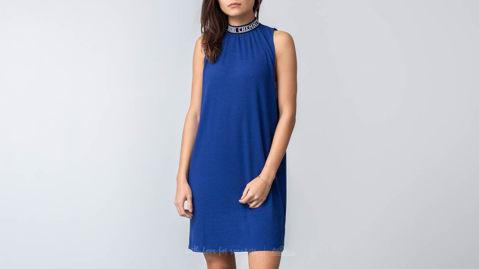 Dress Bibi Chemnitz Rib Dress Blue