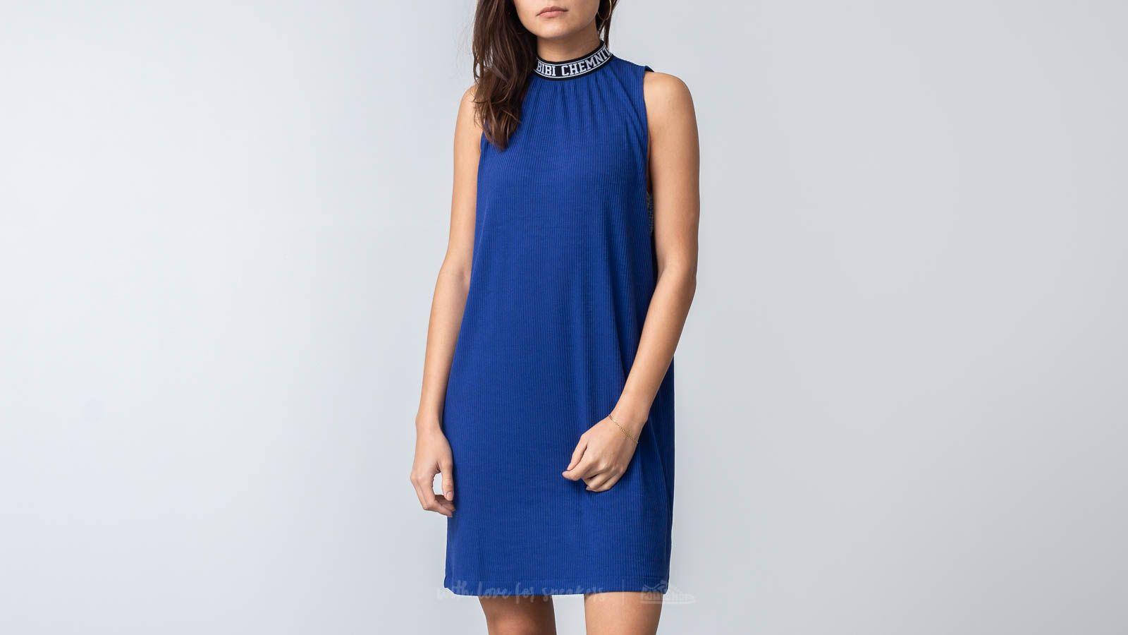 Bibi Chemnitz Rib Dress Blue za skvělou cenu 959 Kč koupíte na Footshop.cz