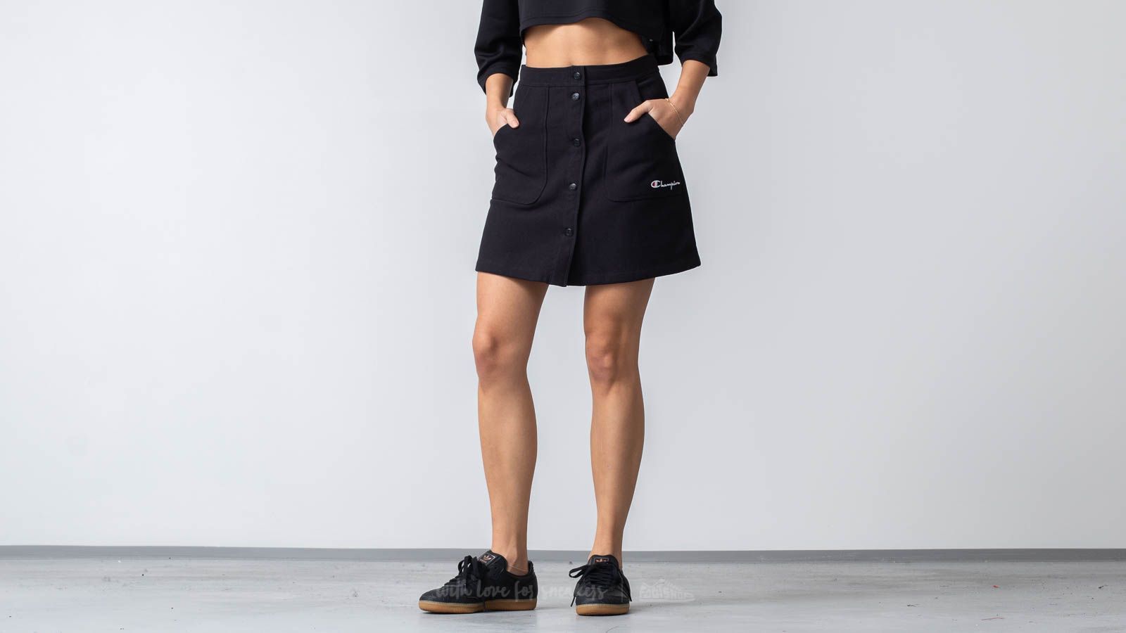 Champion Skirt Black