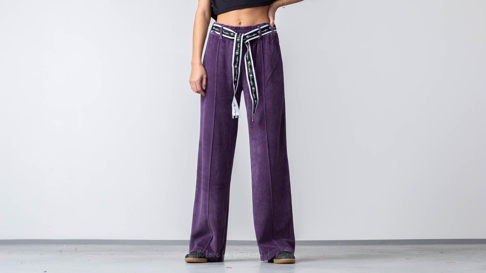 Champion Sweatpants Purple