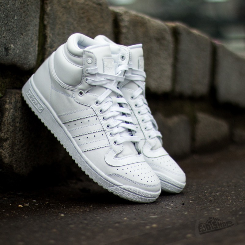 competitive price 920b6 21da4 adidas Top Ten Hi White White White