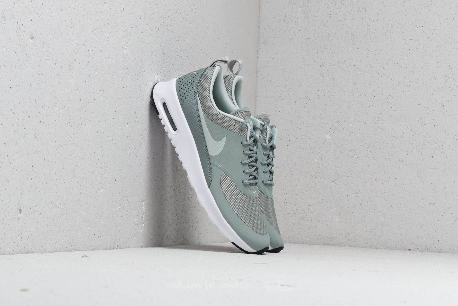 best loved 32135 1b567 Nike WMNS Air Max Thea Mica Green  Light Silver-Black at a great price